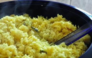 Resep dan cara membuat Nasi Kuning Di Rice Cooker