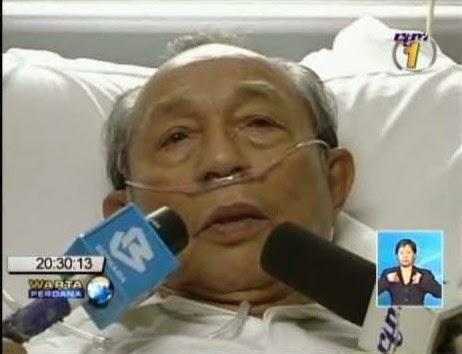 Aziz Sattar Di Hospital Serangan Jantung