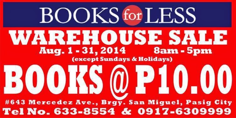 My Book Hunting Adventure At The Books For Less Warehouse Sale