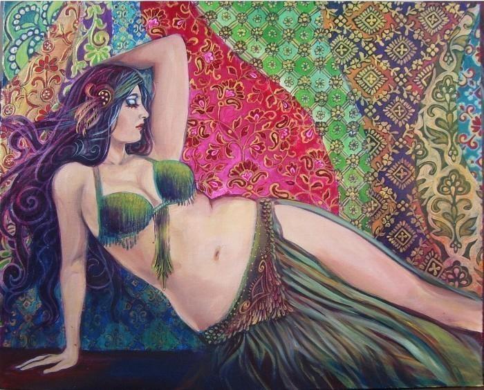 Torna-te uma Deusa da Dança do Ventre!