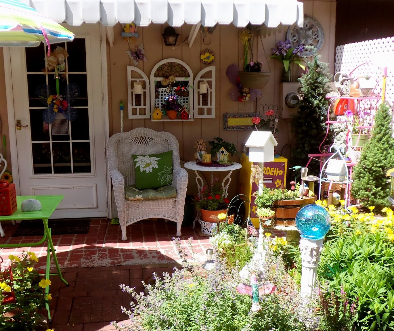 My Colorful Patio 2015, Part 2