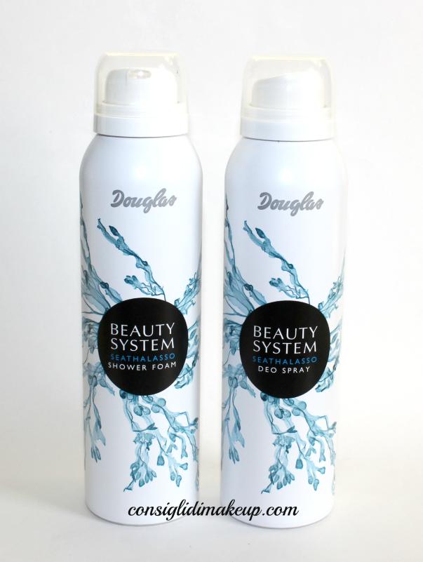 Docciaschiuma in mousse e deodorante Beauty System Seathalasso - Douglas