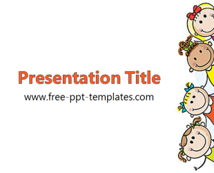 template description kids powerpoint template is a white template with appropriate background image which you can use to make an elegant and professional - Free Templates For Kids