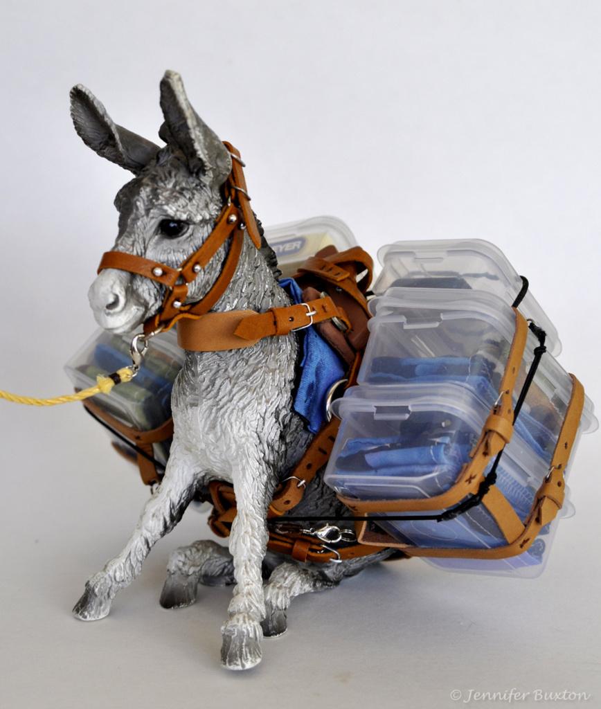 KJ1 braymere custom saddlery model model horse show