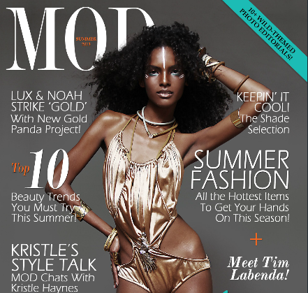 Kaela Kay Featured in MOD Magazine