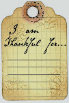 Free Thankful tag