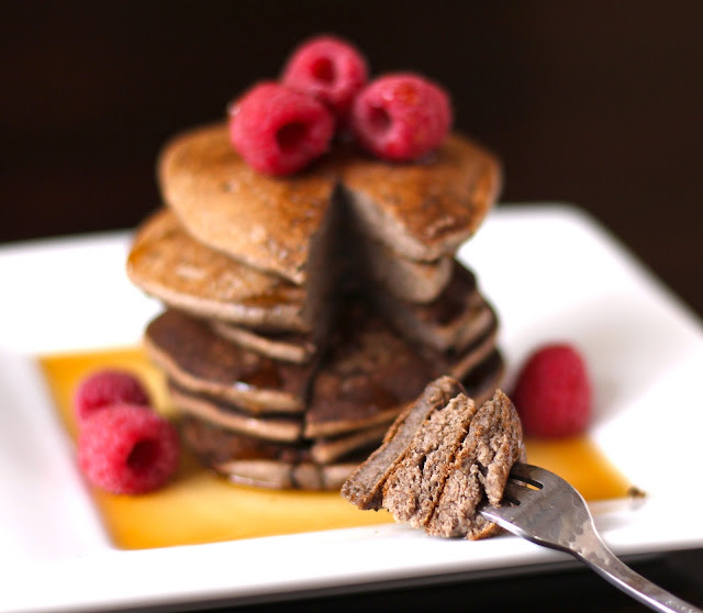 Healthy Buckwheat Pancakes