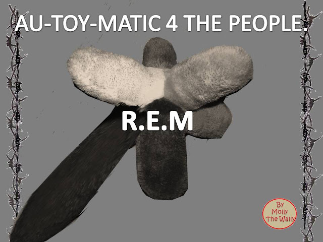Automatic For The People, R.E.M album cover by Molly The Wally.