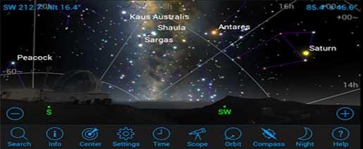 SkySafari 4 Pro Astronomy Apk v4.4.7 Paid