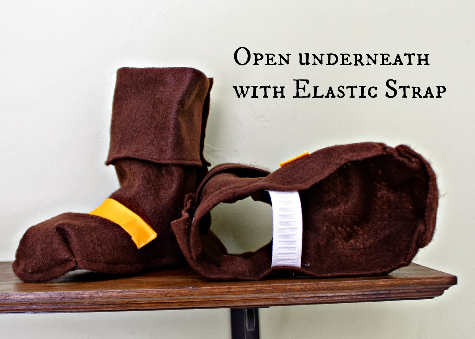 Risc Handmade Jake And The Neverland Pirate Felt Boots