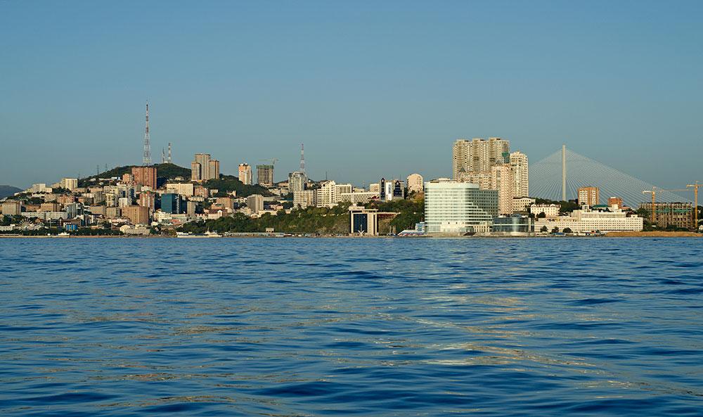 Владивосток, море, небо