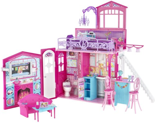 barbie glam vacation house barbie doll s fabulously glam vacation ...