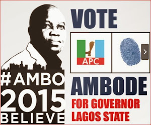 Vote Akin Ambode for Lagos Gov.
