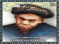 KH Abdul Karim Lirboyo Tidak bisa di Foto