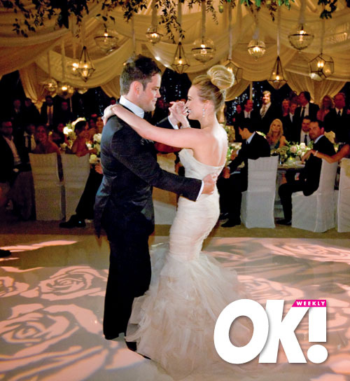 Chasing Rainbows Kissing Frogs: Hilary Duff\'s Wedding