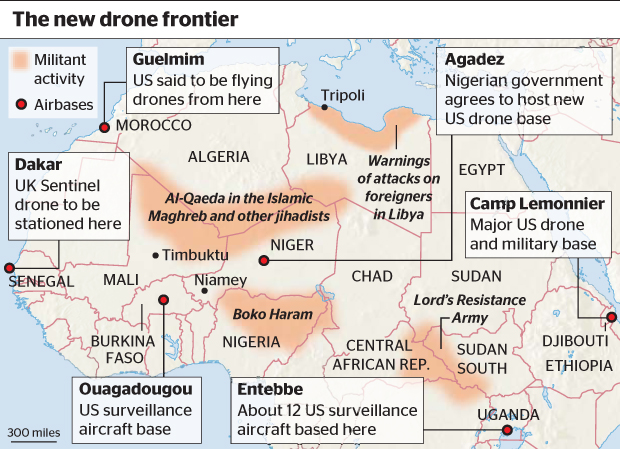 War News Updates The Pentagon Wants A Second Military Base In Africa - Us military bases in africa map