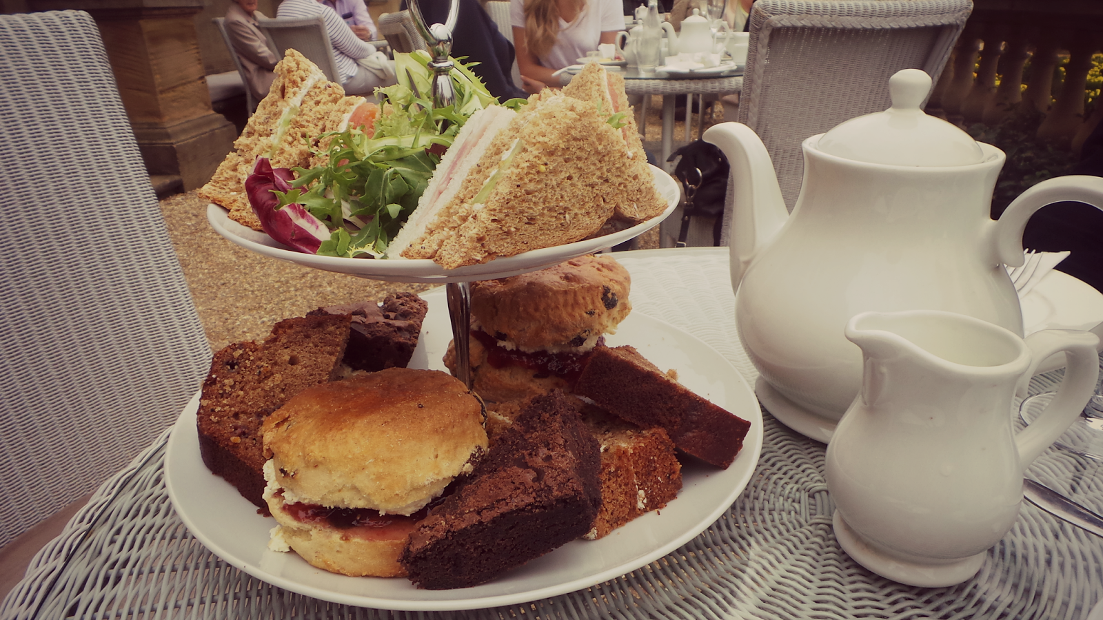 stately home afternoon tea