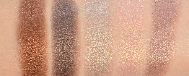 Manhattan Sparkling Nudes Eyeshadow Soft Nude Swatches