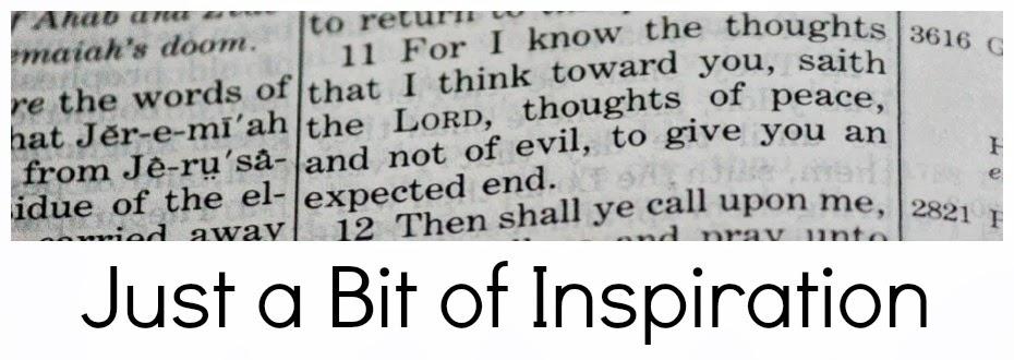 Just A Bit of Inspiration