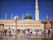 Kubah Hijau Masjid Nabi
