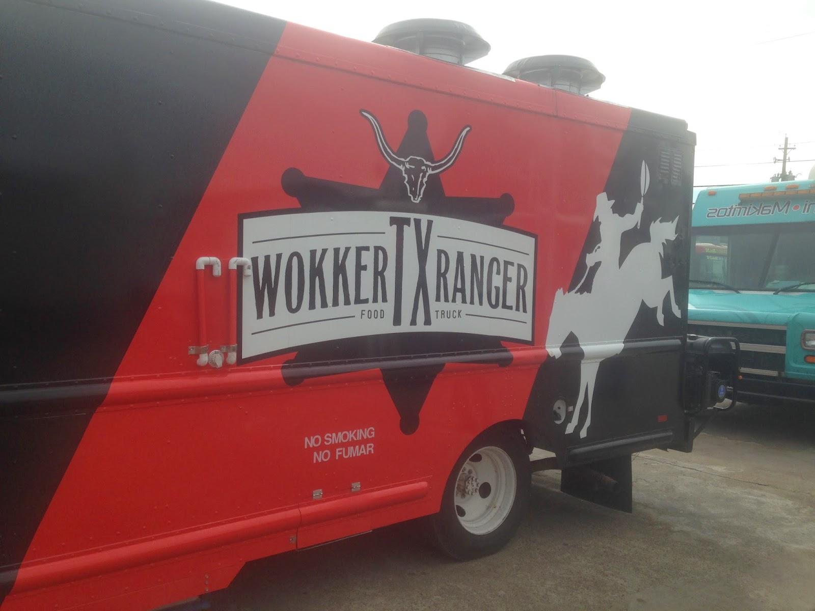 Wokker Texas Ranger Food Truck Houston TX