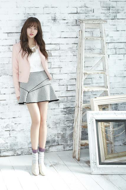 K-Fashion Inspiration: My Rose Pink Jacket by Kim So Hyun