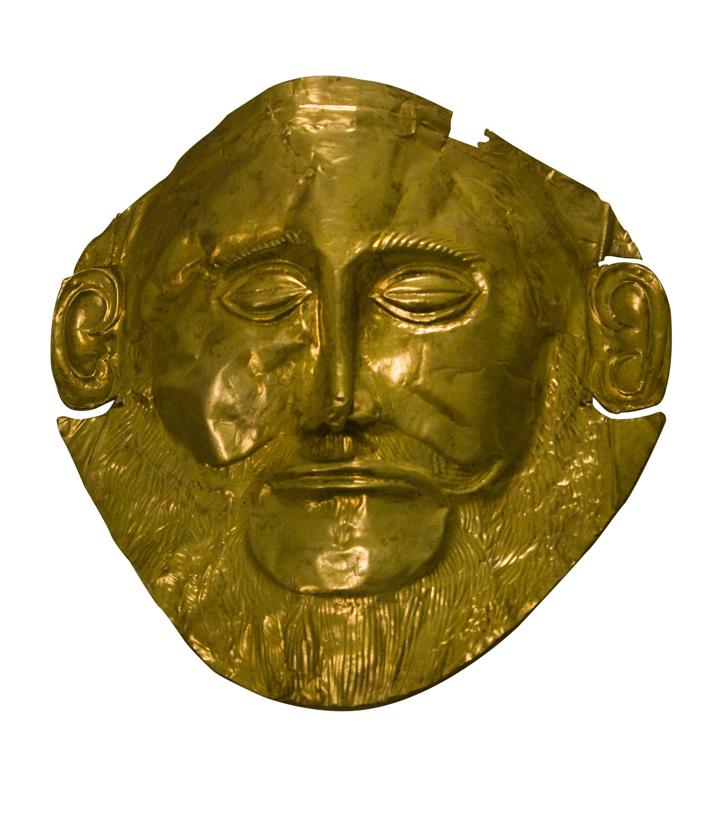 Ancient Mycaenian Mask