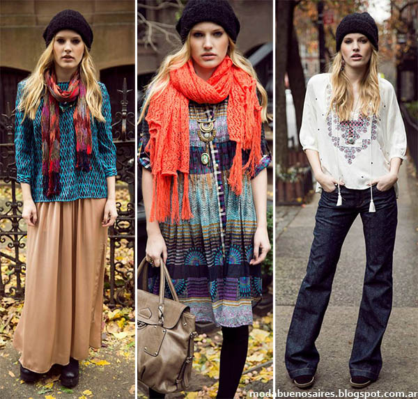 Moda otoño invierno 2014 - India Style otoño invierno 2014 colección.
