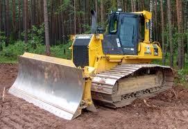 alat berat traktor buldozer