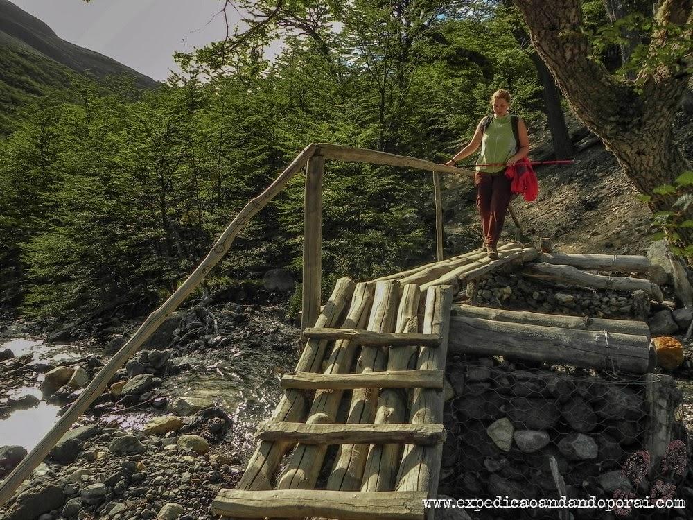 trilha para o Mirador Torres del Paine