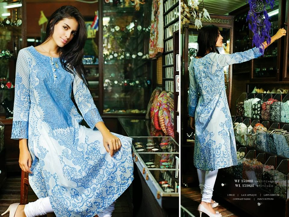 Spring lawn collection 2015 for women