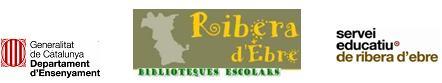 Bloc de totes les biblioteques escolars de la Ribera d'Ebre
