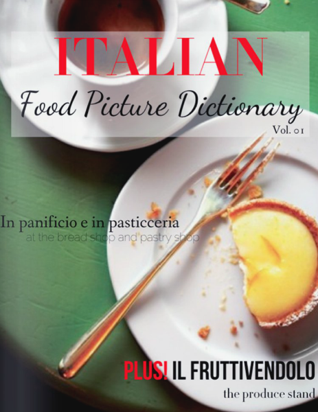 ITALIAN: Food Picture Dictionary Vol. 01 Cover