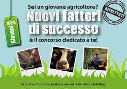 Nuovi Fattori di Successo: Concorso per giovani agricoltori beneficiari FEASR