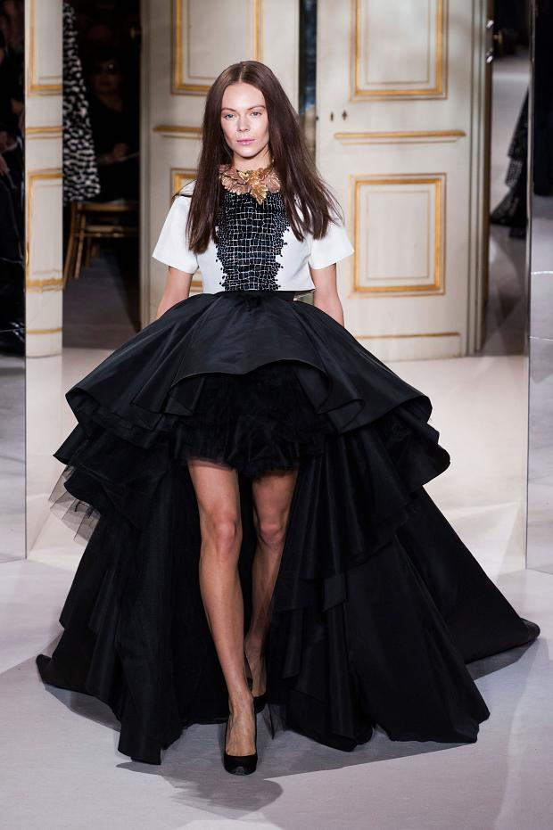 Paris Haute Couture Fashion Week Giambattista Valli 2013