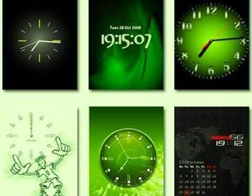 Animated-flash-clock-generator