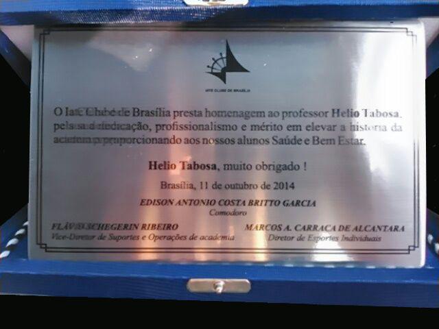 Homenagem ao Pioneiro na Ginástica Localizada Brasileira