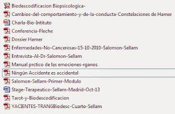 Descarga paquete de 13 textos de Biodescodificación
