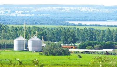 Vista da Fazenda Guará, em Morada Nova de Minas, propriedade de Perrella avaliada em R$ 60 milhões