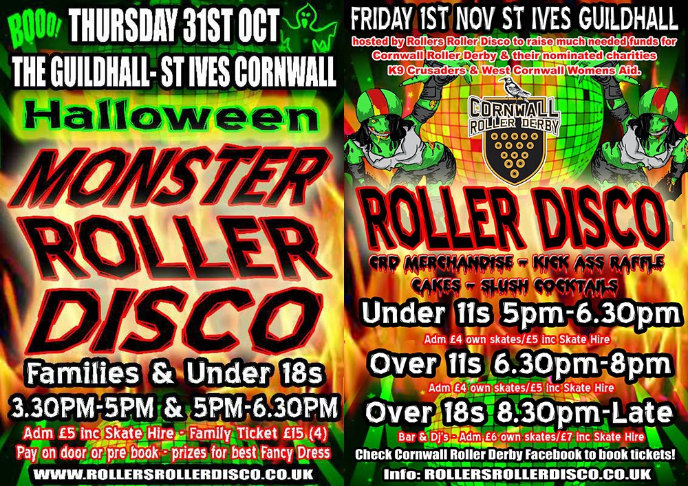 Rollers Roller Disco - St Ives Guildhall