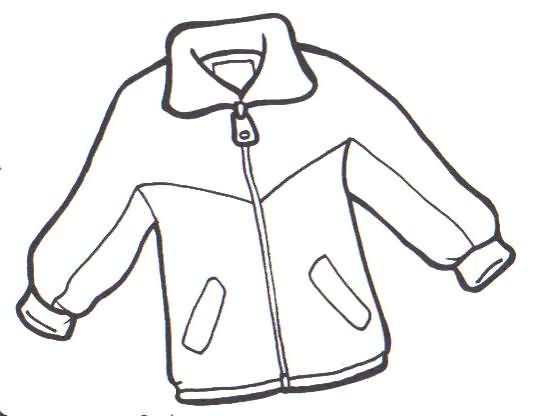 COLOREA TUS DIBUJOS: Abrigo para colorear y pintar