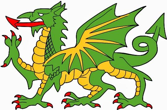 Héraldie: Le Dragon En Héraldique