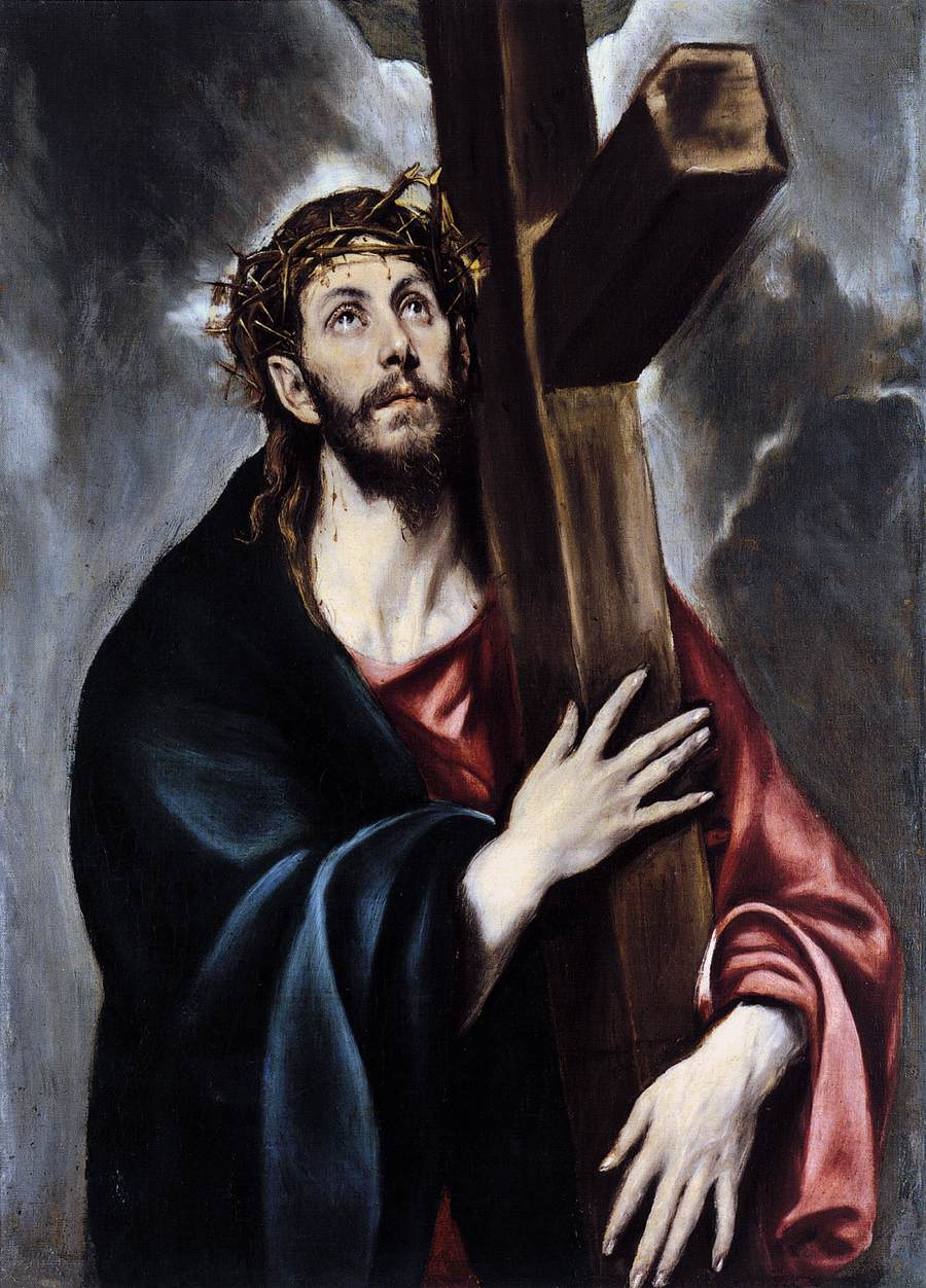 jesus christ carrying cross wallpapers