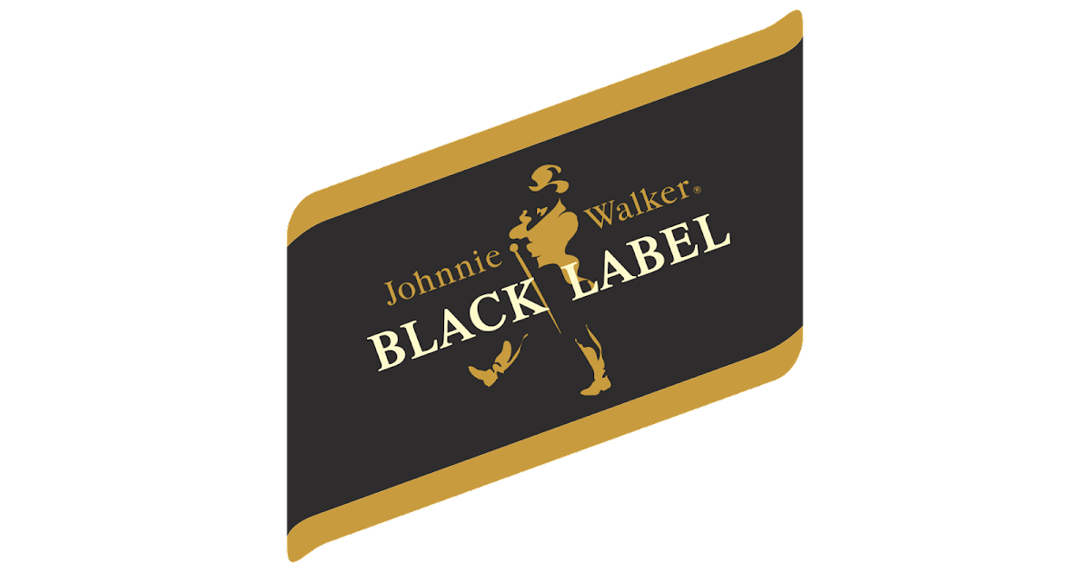 johnnie walker black label logo logo cdr vector. Black Bedroom Furniture Sets. Home Design Ideas