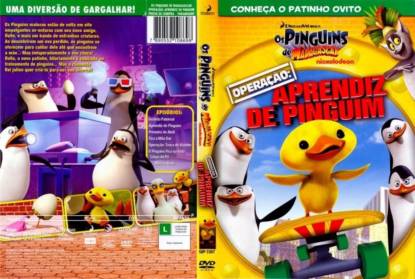 Os Puinguins De Madagascar Operação Aprendiz De Pinguim