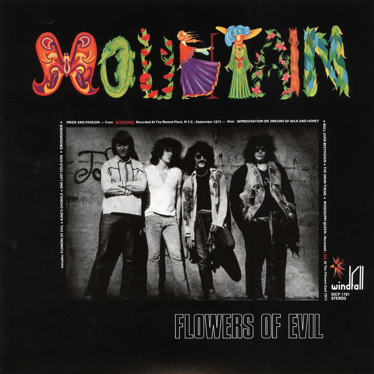 juicyjaila Mountain Flowers of Evil Classic Hardrock 1971