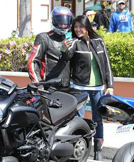 Tim Allen's Ducati Diavel