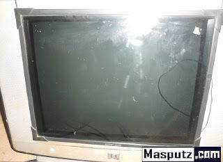 servis tv polytron kadang hidup