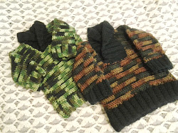 Sweaters I crocheted