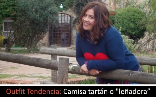 """Outfit Tendencia: Camisa tartán o """"leñadora"""""""